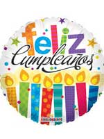 Globo Feliz Cumpleaños 18