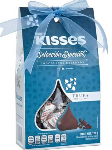 Chocolates Kisses Trufas Italianas
