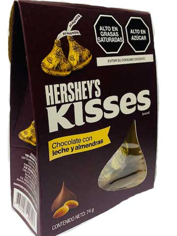 Chocolates Kisses chocoAlmendras