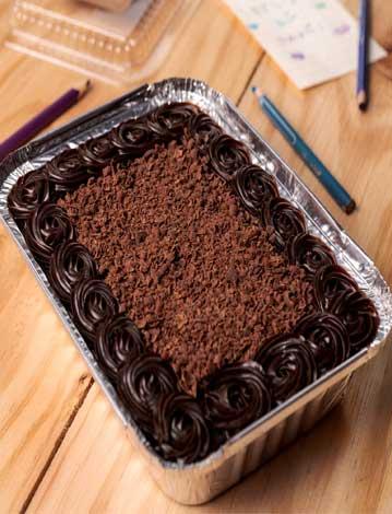 Postre de Torta de Chocolate